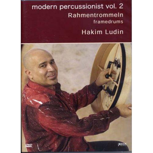 MUSIC SALES LUDIN HAKIM - MODERN PERSUSSIONIST VOL.2 - FRAMEDRUMS