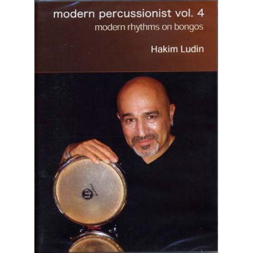 MUSIC SALES LUDIN HAKIM - MODERN PERSUSSIONIST VOL.4 - BONGOS