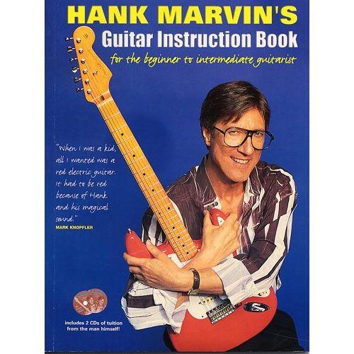 HUDSON MUSIC HANK MARVIN'S GUITAR INSTRUCTION BOOK + CD - GUITAR
