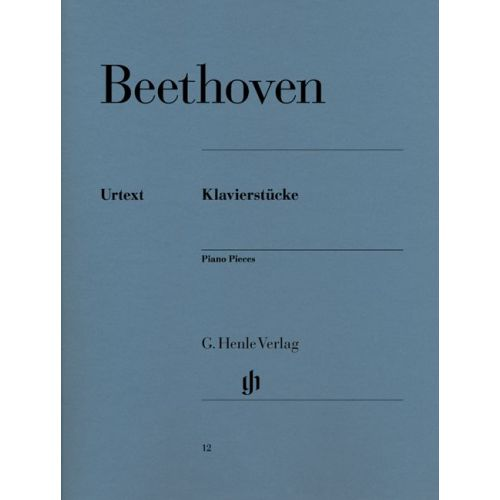 HENLE VERLAG BEETHOVEN L.V. - PIANO PIECES