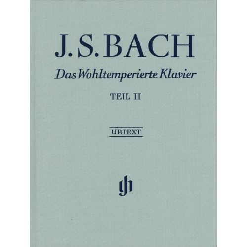 HENLE VERLAG BACH J.S. - THE WELL-TEMPERED CLAVIER PART II