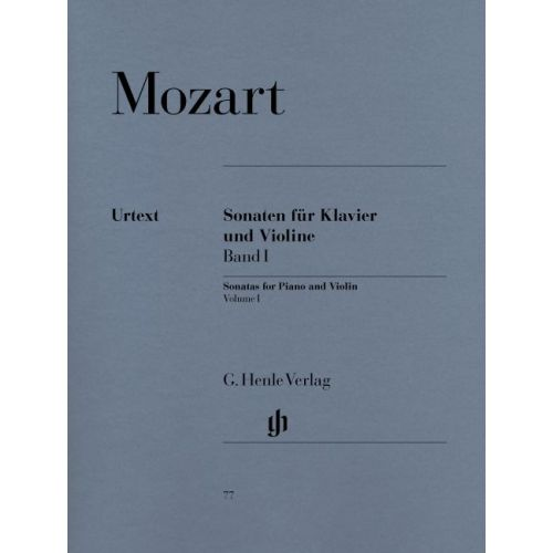 HENLE VERLAG MOZART W.A. - SONATAS FOR PIANO AND VIOLIN, VOLUME I