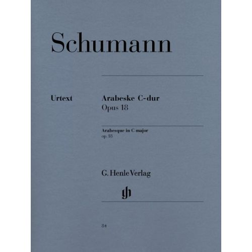 HENLE VERLAG SCHUMANN R. - ARABESQUE C MAJOR OP. 18