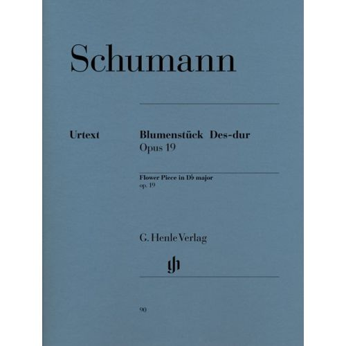 HENLE VERLAG SCHUMANN R. - FLOWER PIECE D-FLAT MAJOR OP. 19 - PIANO