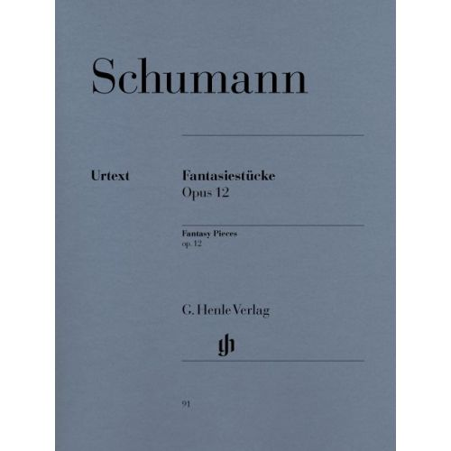HENLE VERLAG SCHUMANN R. - FANTASY PIECES OP. 12 (WITH APPENDIX: WOO 28)