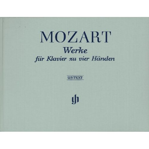HENLE VERLAG MOZART W.A. - WORKS FOR PIANO FOUR-HANDS