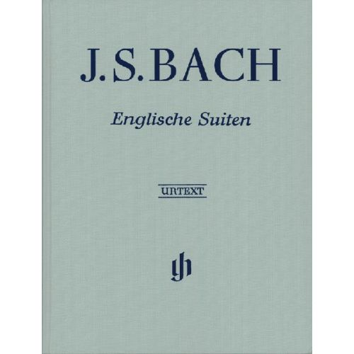 HENLE VERLAG BACH J.S. - ENGLISH SUITES BWV 806-811 - PIANO