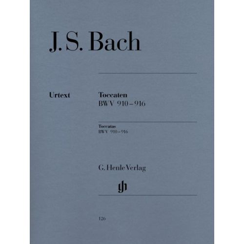 HENLE VERLAG BACH J.S. - TOCCATAS BWV 910-916