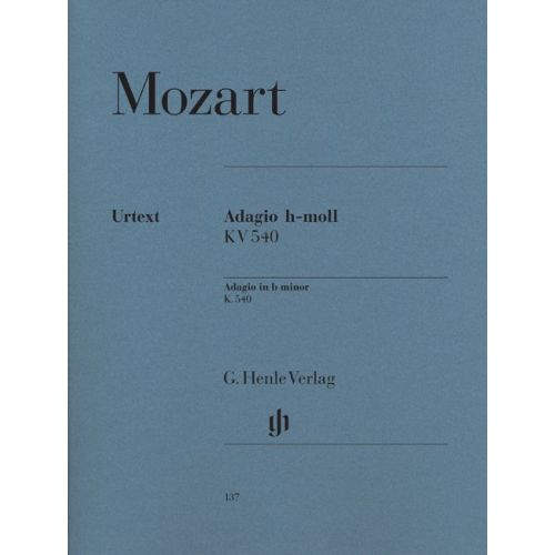 HENLE VERLAG MOZART W.A. - ADAGIO IN B MINOR K. 540