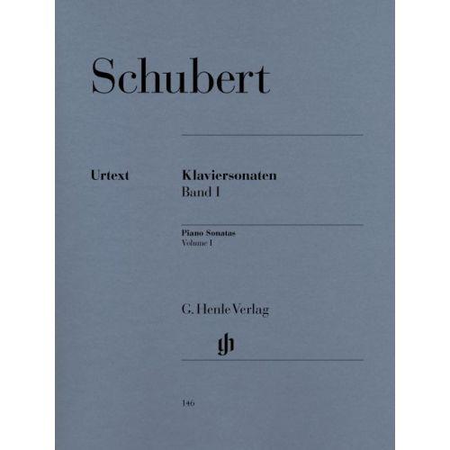HENLE VERLAG SCHUBERT F. - PIANO SONATAS, VOLUME I