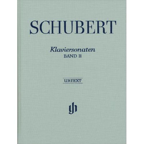 HENLE VERLAG SCHUBERT F. - PIANO SONATAS, VOLUME II