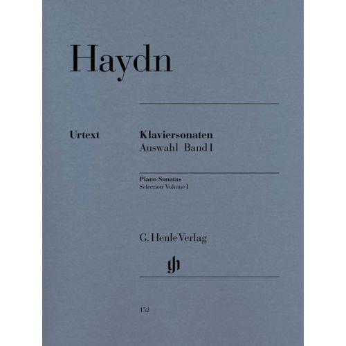 HENLE VERLAG HAYDN J. - SELECTED PIANO SONATAS, VOLUME I