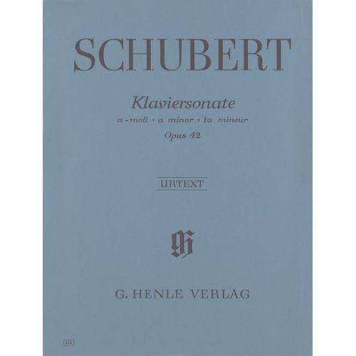 HENLE VERLAG SCHUBERT F. - PIANO SONATA A MINOR OP. 42 D 845 - PIANO