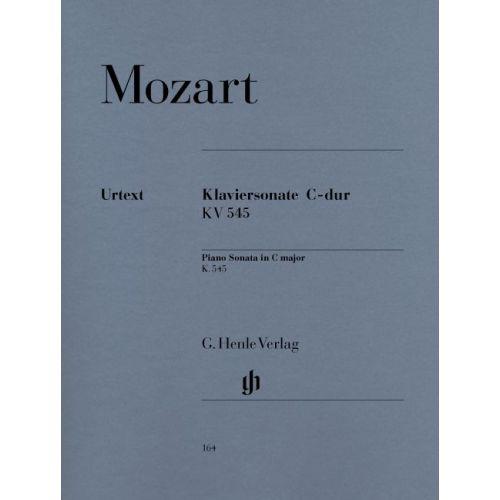 HENLE VERLAG MOZART W.A. - PIANO SONATA C MAJOR K. 545 (FACILE)