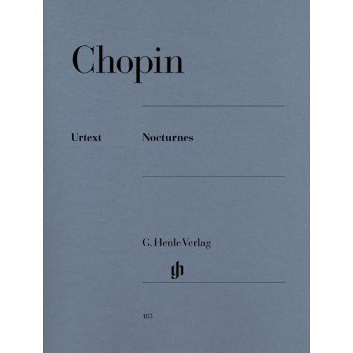 HENLE VERLAG CHOPIN F. - NOCTURNES - PIANO