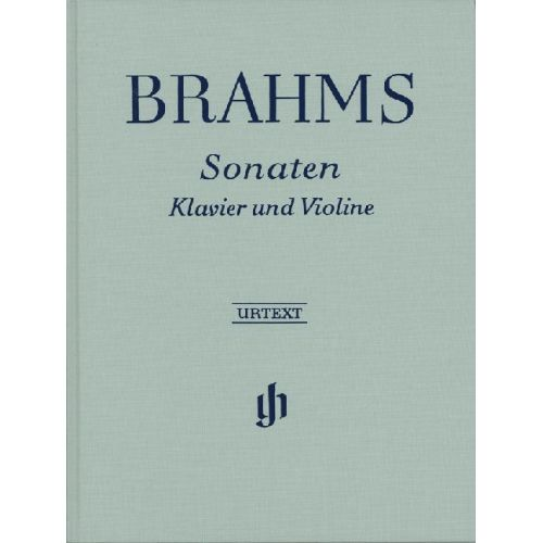 HENLE VERLAG BRAHMS J. - SONATAS FOR PIANO AND VIOLIN
