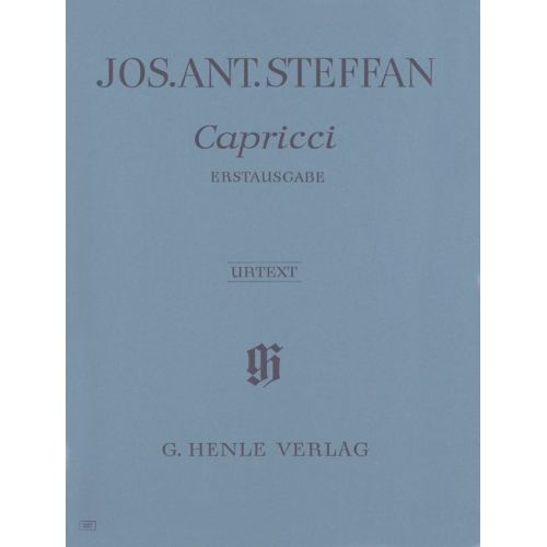 HENLE VERLAG STEFFAN J.A. - 5 CAPRICCI (FIRST EDITION) - PIANO