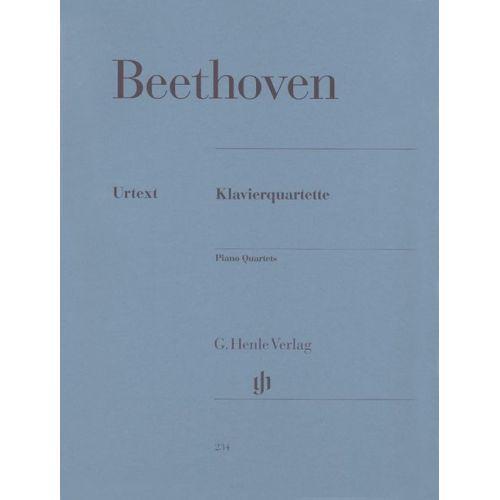 HENLE VERLAG BEETHOVEN L.V. - PIANO QUARTETS