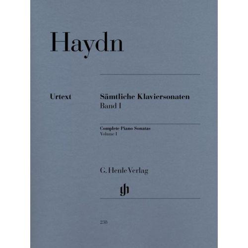 HENLE VERLAG HAYDN J. - COMPLETE PIANO SONATAS, VOLUME I