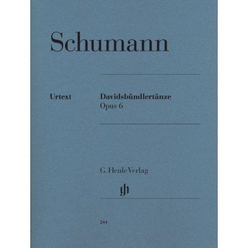 HENLE VERLAG SCHUMANN R. - DAVIDSBUNDLERTANZE OP. 6