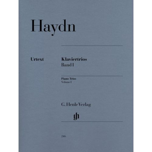 HENLE VERLAG HAYDN J. - PIANO TRIOS, VOLUME I