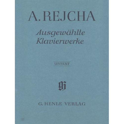 HENLE VERLAG REJCHA, ANTONIN - SELECTED PIANO WORKS