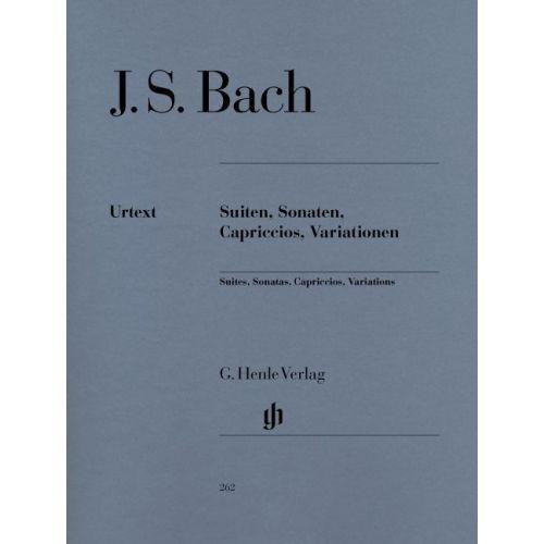 HENLE VERLAG BACH J.S. - SUITES, SONATAS, CAPRICCIOS, VARIATIONS