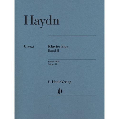 HENLE VERLAG HAYDN J. - PIANO TRIOS, VOLUME II