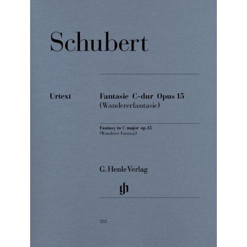 HENLE VERLAG SCHUBERT F. - FANTASY C MAJOR OP. 15 D 760