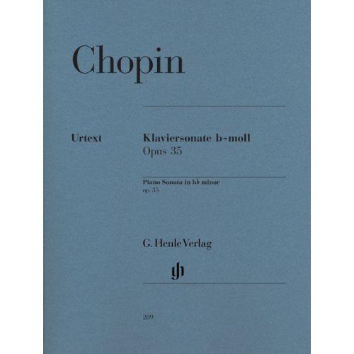 HENLE VERLAG CHOPIN F. - PIANO SONATA B FLAT MINOR OP. 35