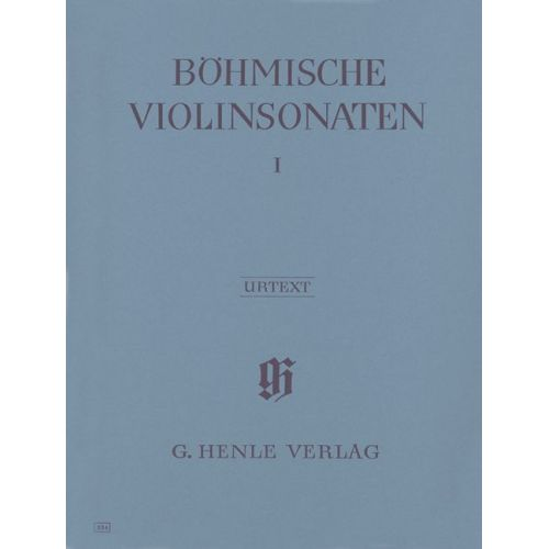 HENLE VERLAG BOHEMIAN VIOLIN SONATAS, VOLUME I (WITH BASSO CONTINUO PART)