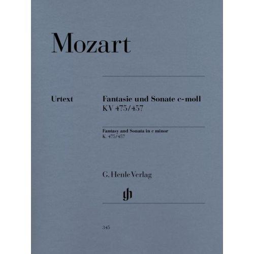 HENLE VERLAG MOZART W.A. - FANTASY AND SONATA C MINOR KV 475/457