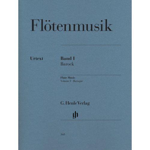 HENLE VERLAG FLUTE MUSIC, VOLUME 1 - BAROQUE - FLUTE, PIANO