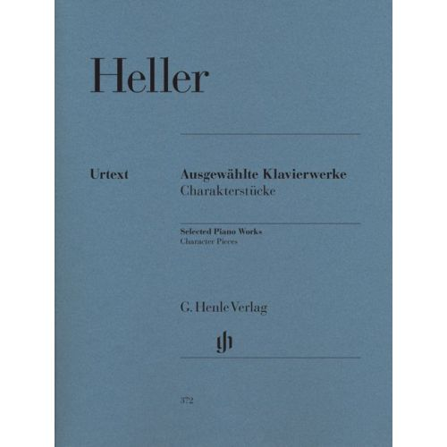 HENLE VERLAG HELLER S. - SELECTED PIANO WORKS (CHARACTER PIECES)