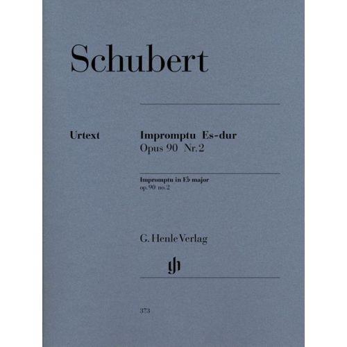 HENLE VERLAG SCHUBERT F. - IMPROMPTU E FLAT MAJOR OP. 90,2 D 899