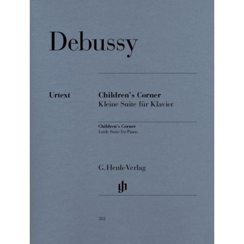 HENLE VERLAG DEBUSSY C. - CHILDREN'S CORNER - PIANO