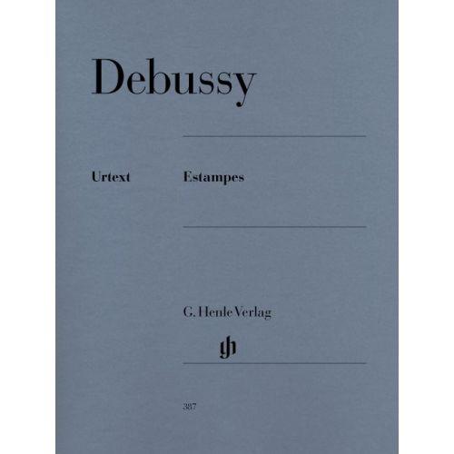 HENLE VERLAG DEBUSSY C. - ESTAMPES