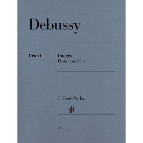 HENLE VERLAG DEBUSSY C. - IMAGES 2E SERIE