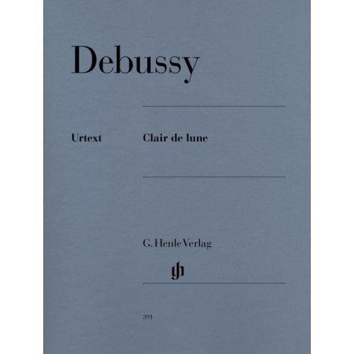 HENLE VERLAG DEBUSSY C. - CLAIR DE LUNE