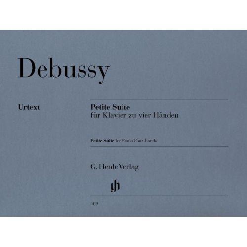 HENLE VERLAG DEBUSSY CLAUDE - PETITE SUITE - PIANO 4 MAINS