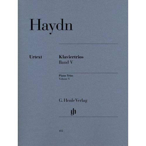 HENLE VERLAG HAYDN J. - PIANO TRIOS, VOLUME V
