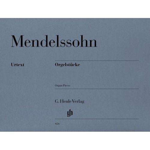 HENLE VERLAG MENDELSSOHN B F. - ORGAN PIECES