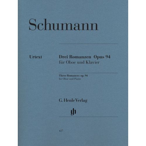 HENLE VERLAG SCHUMANN R. - ROMANCES FOR OBOE (OR VIOLIN OR CLARINET) AND PIANO OP. 94