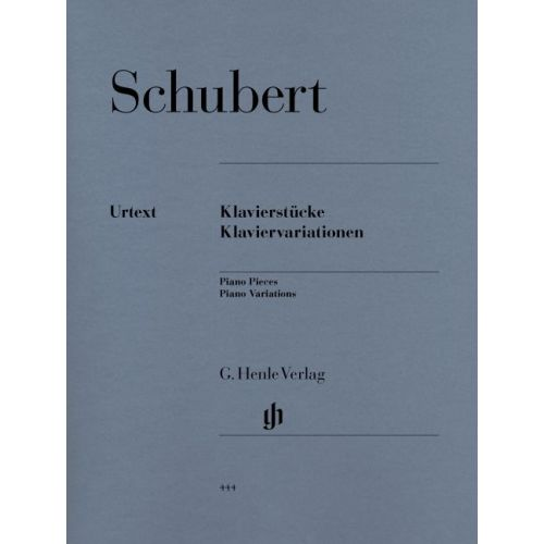 HENLE VERLAG SCHUBERT F. - PIANO PIECES - PIANO VARIATIONS