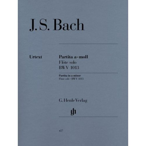 HENLE VERLAG BACH J.S. - PARTITA FOR FLUTE SOLO A MINOR BWV 1013