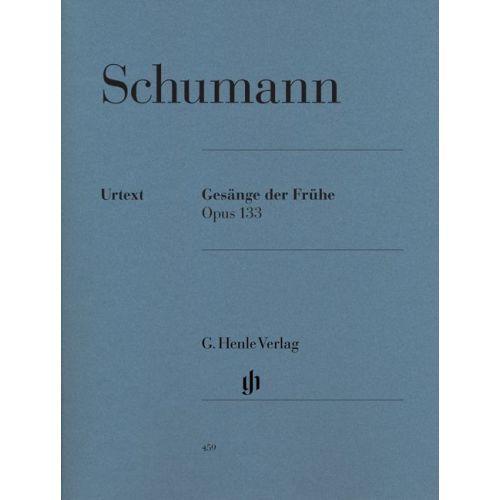 HENLE VERLAG SCHUMANN R. - GESANGE DER FRUHE OP. 133