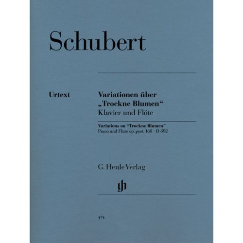 HENLE VERLAG SCHUBERT F. - VARIATIONS ON