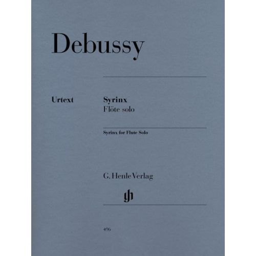 HENLE VERLAG DEBUSSY C. - SYRINX [LA FLUTE DE PAN] (FOR FLUTE SOLO)