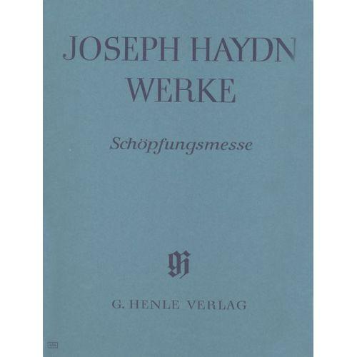 HENLE VERLAG HAYDN J. - MASS NO. 11 - SCHOPFUNGSMESSE 1801