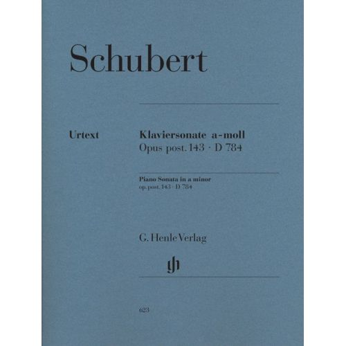 HENLE VERLAG SCHUBERT F. - PIANO SONATA A MINOR OP. POST. 143 D 784